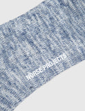 Norse Projects Bjarki Blend Socks - Navy Blue