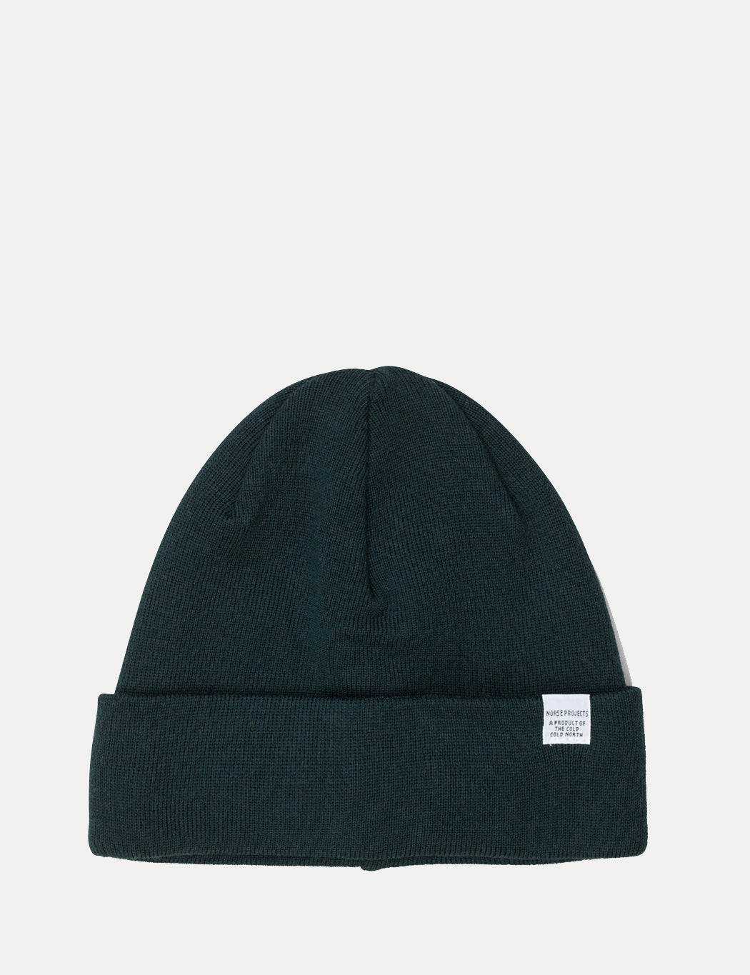 018bab03be063 Norse Projects Top Beanie Hat - Quartz Green