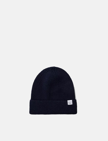 e31c0678f82 Norse Projects Cotton Watch Beanie Hat - Navy ...