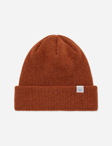 2d045ccf748 Norse Projects Norse Beanie Hat - Signal Orange
