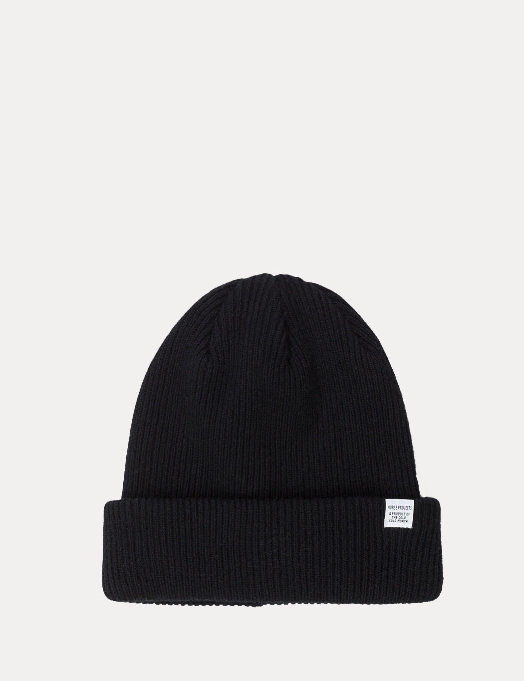 db129f63b Norse Projects Norse Beanie Hat - Black