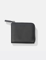 Norse Projects Marko Zip Wallet (Leather) - Black