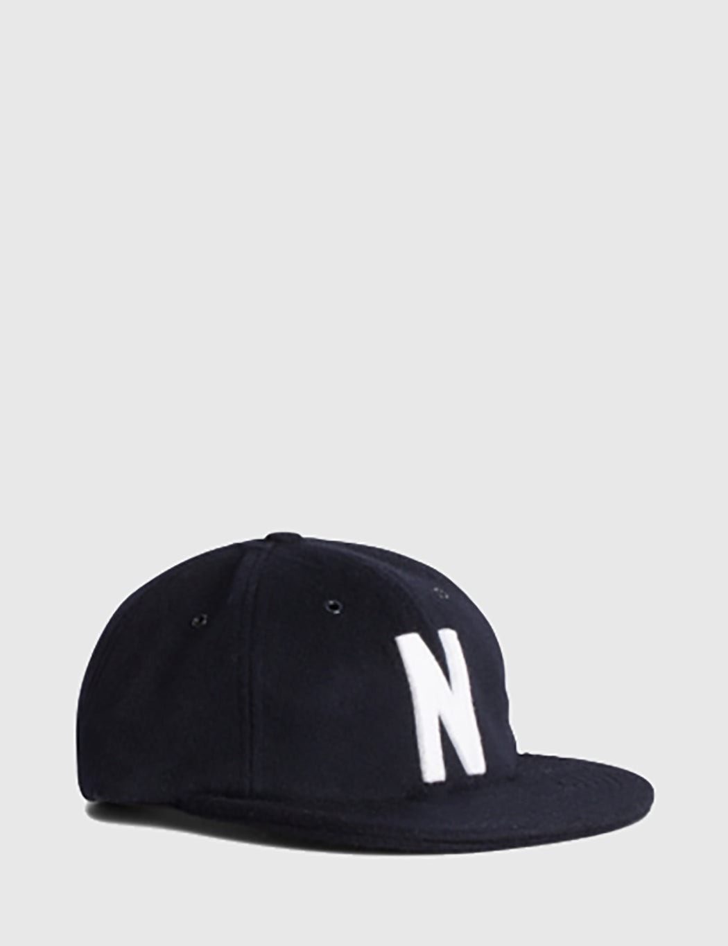 Norse Projects Norse Wool Cap - Navy Blue