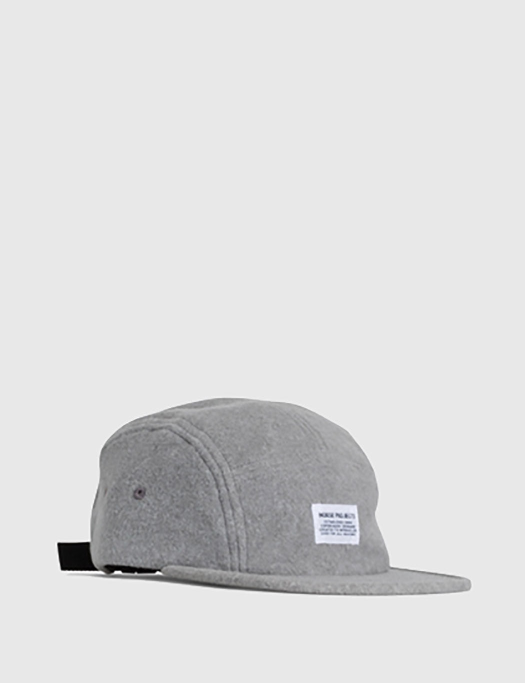 92a035d8670 Norse Projects Polartec 5 Panel Cap - Light Grey