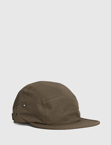 Norse Projects 5-Panel Gros Grain Cap - Lichen Green