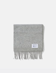 Norse Projects x Johnstons Lambswool Scarf - Ash Grey