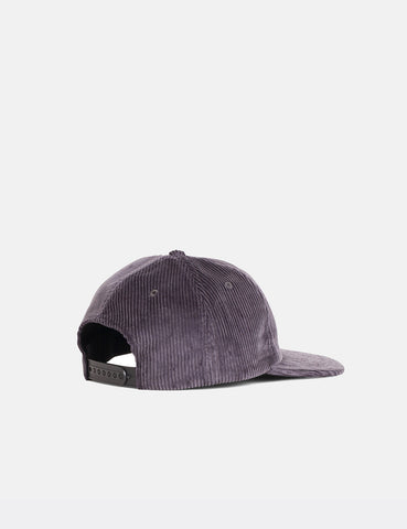 Norse Projects 6-Panel Cap (Corduroy) - Mouse Grey