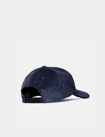 Norse Projects 6-Panel Cap (Corduroy) - Petrol Blue
