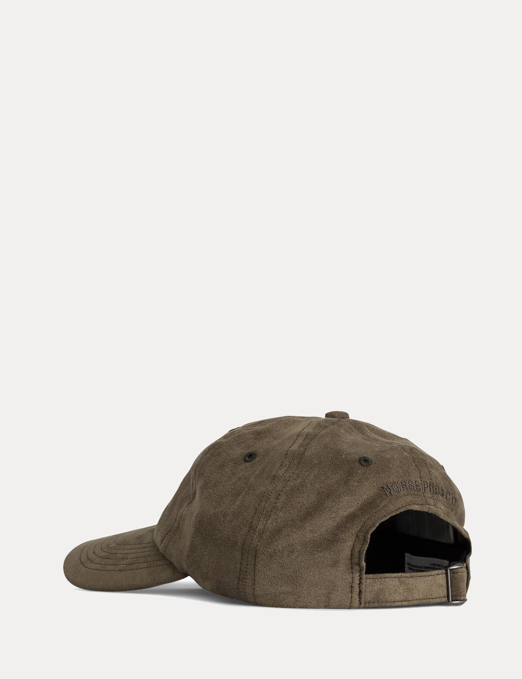 de51d3792c1 ... Norse Projects Fake Suede Sports Cap - Dried Olive Green