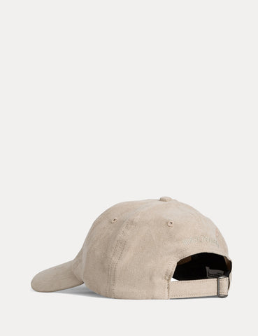 Norse Projects Fake Suede Sports Cap - Sand