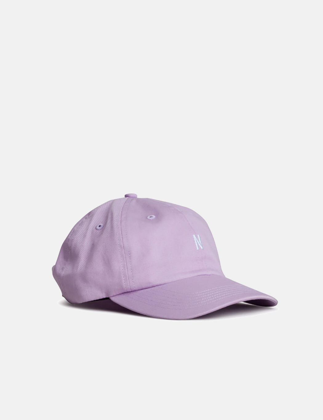 Norse Projects Light Twill Sports Cap - Heather Purple