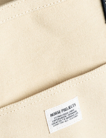 Norse Projects Stefan Beach Bag (Canvas) - Ecru