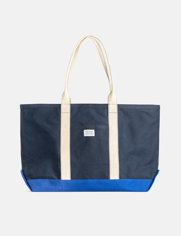 Norse Projects Stefan Beach Bag (Canvas) - Dark Navy