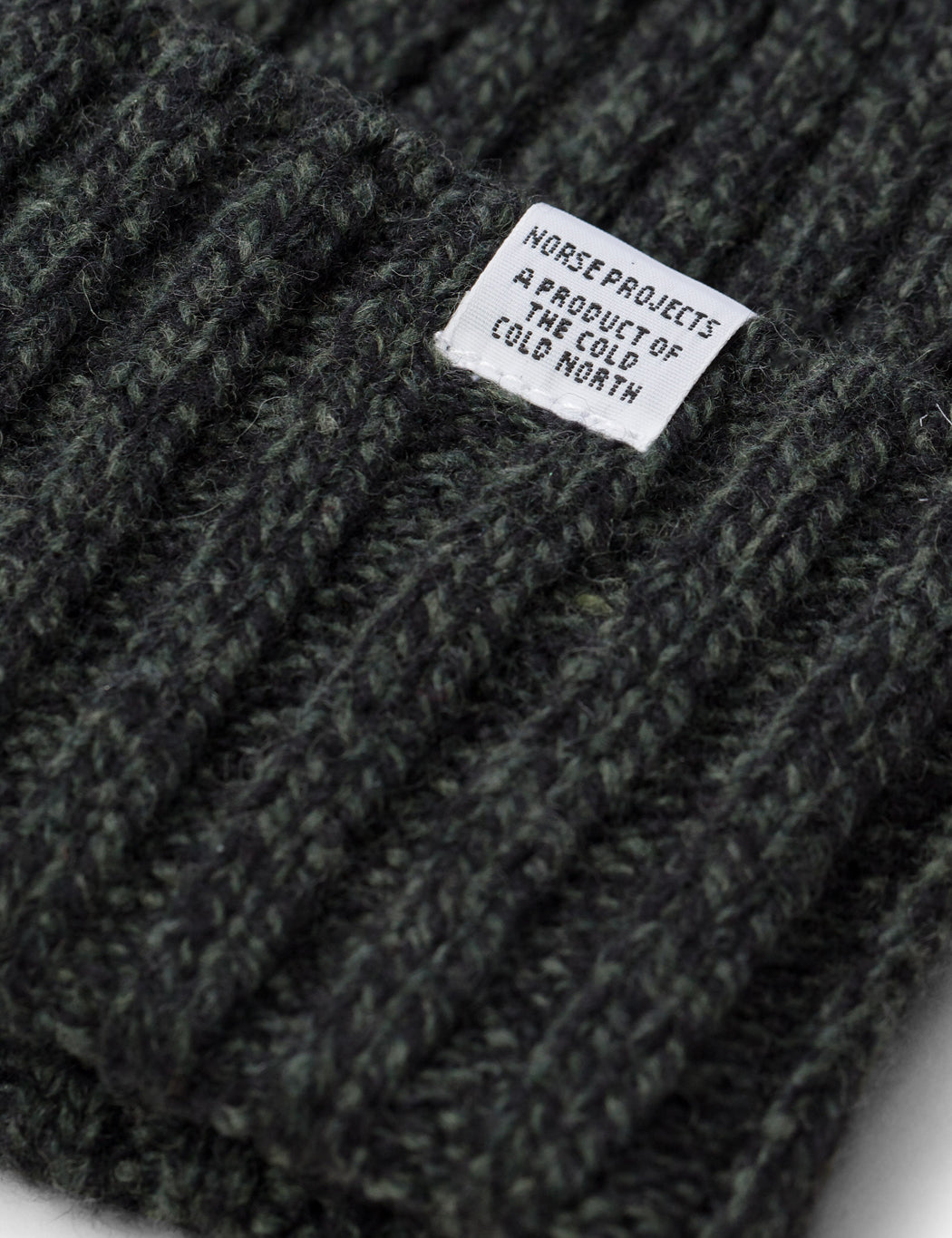 ccefb716e26 ... Norse Projects Wide Rib Beanie Hat - Spinnaker Green