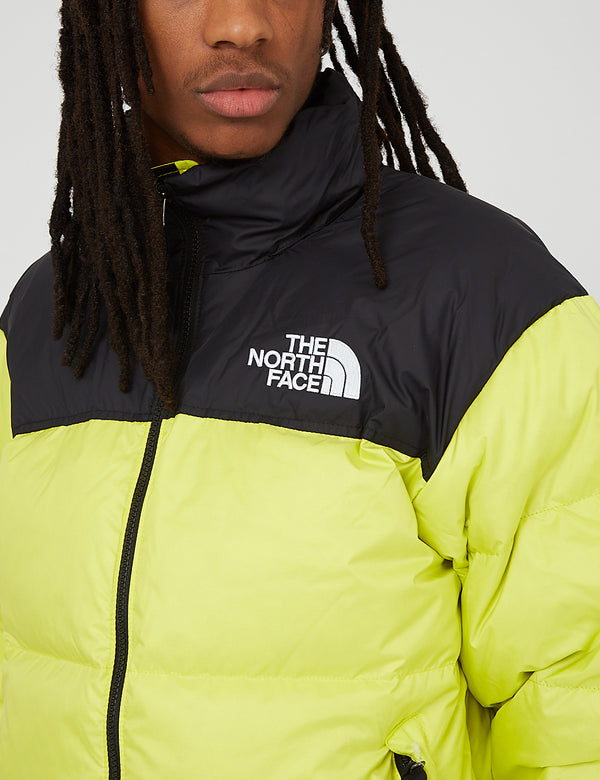 North Face 1996 RTO Nuptse Jacket - Sulphur Spring Green