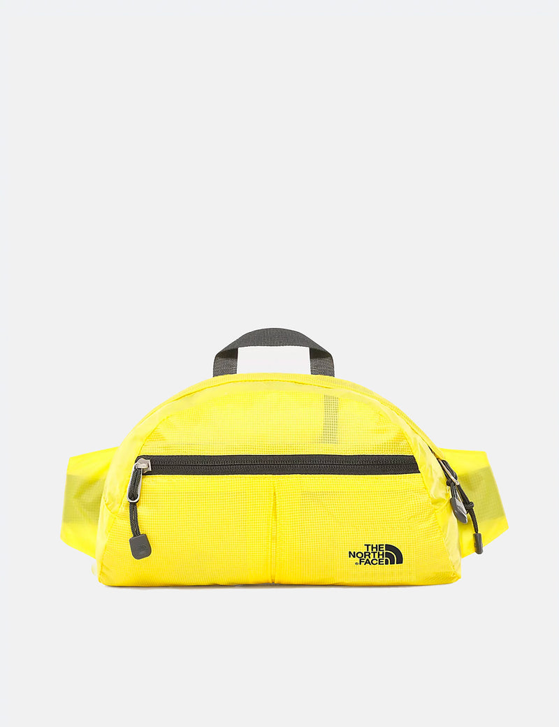 North Face Flyweight Lumbar Hip Bag - Lemon