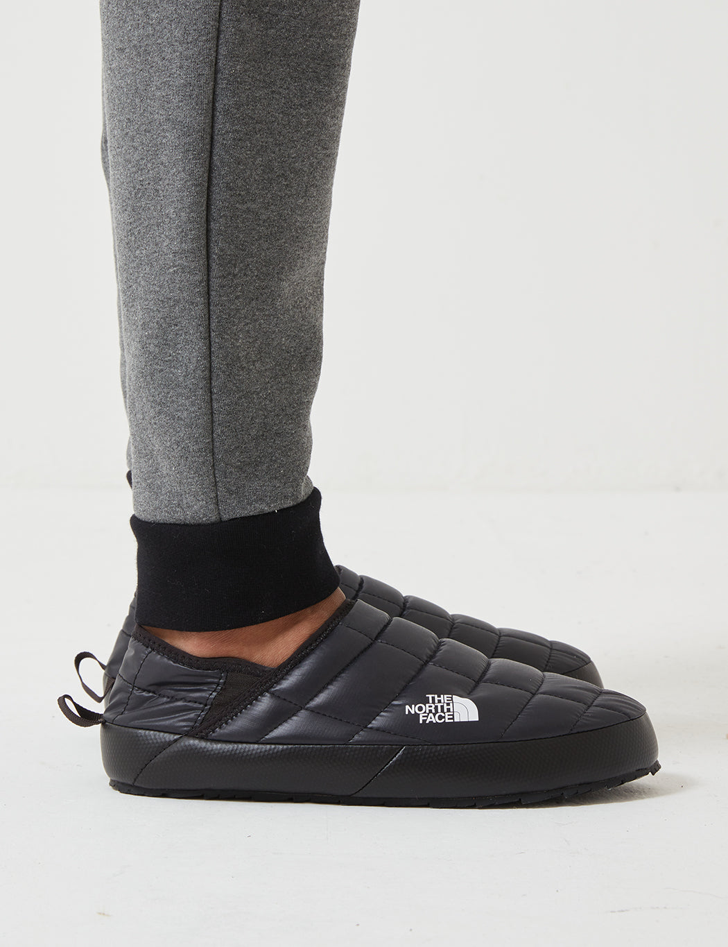 North Face Thermoball Traction Mule V - Black/White | URBAN EXCESS.