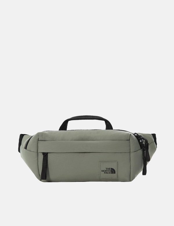 North Face City Voyager Lumbar Hip Bag - Agave Green/TNF Black