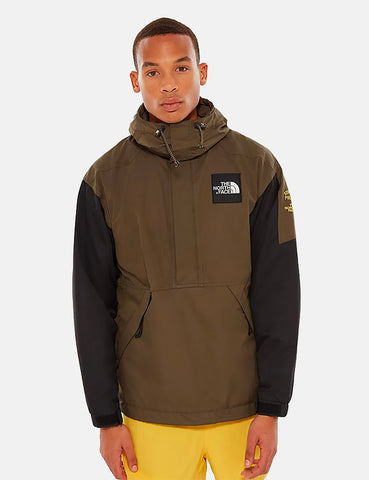 North Face Headpoint Anorak Jacket - New Taupe Green