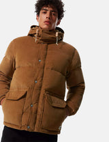 North Face Sierra Down Corduroy Parka - Utility Brown