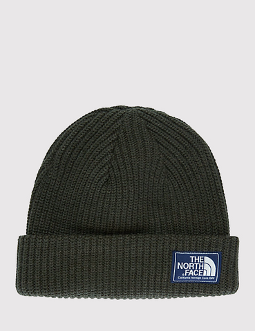 North Face Salty Dog Beanie - Rosin Green
