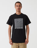 Stu Gazi No Pleasure T-Shirt - Black