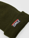Only NY Subway Beanie Hat - Olive Green
