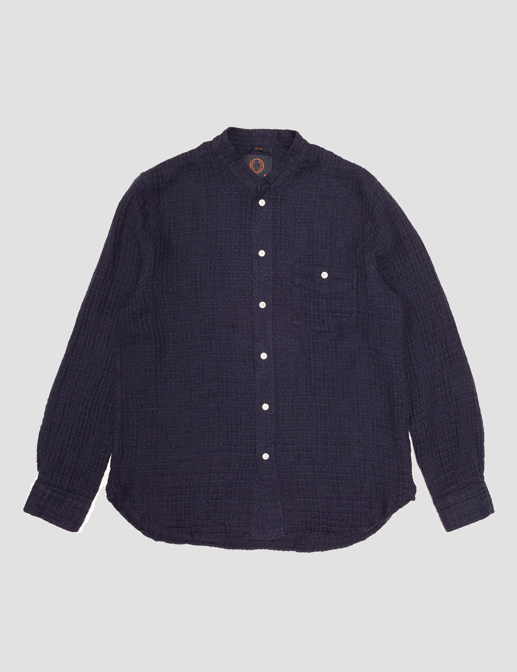 Human Scales Orvar Shirt - Navy Blue