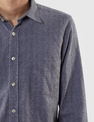 Portuguese Flannel Painel Shirt - Grey