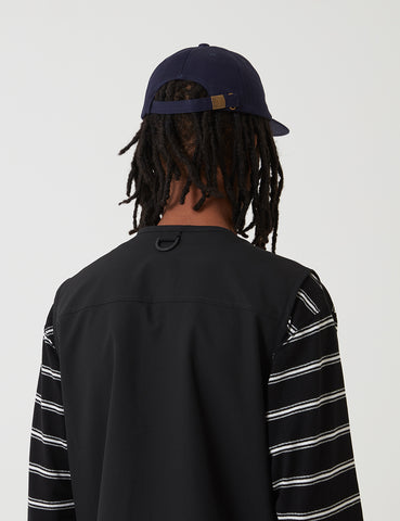 Parlez Larson 6-Panel Cap - Navy Blue