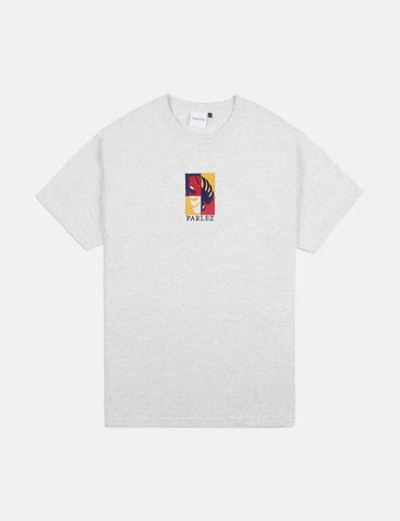 Parlez Oblique T-Shirt - Grey Heather