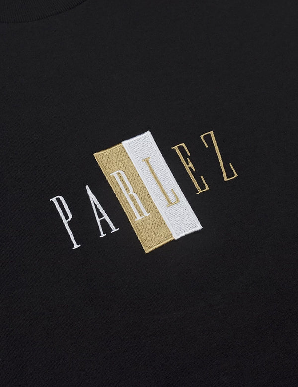 Parlez Divided T-Shirt - Black