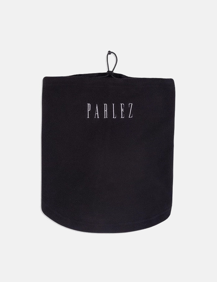 Parlez Mask Snood (Fleece) - Black | URBAN EXCESS.