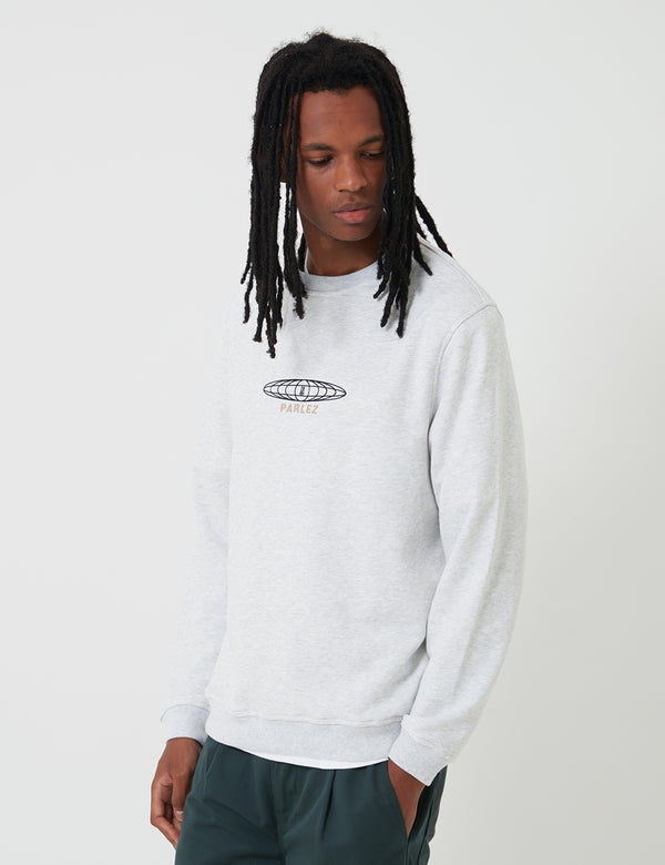 Parlez Yawl Sweatshirt - Grey Heather