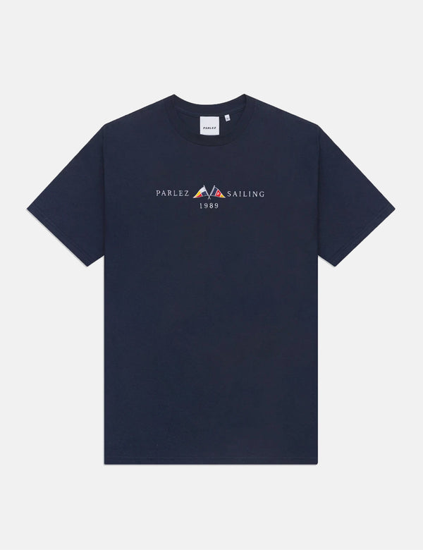Parlez Jetty T-Shirt - Navy Blue