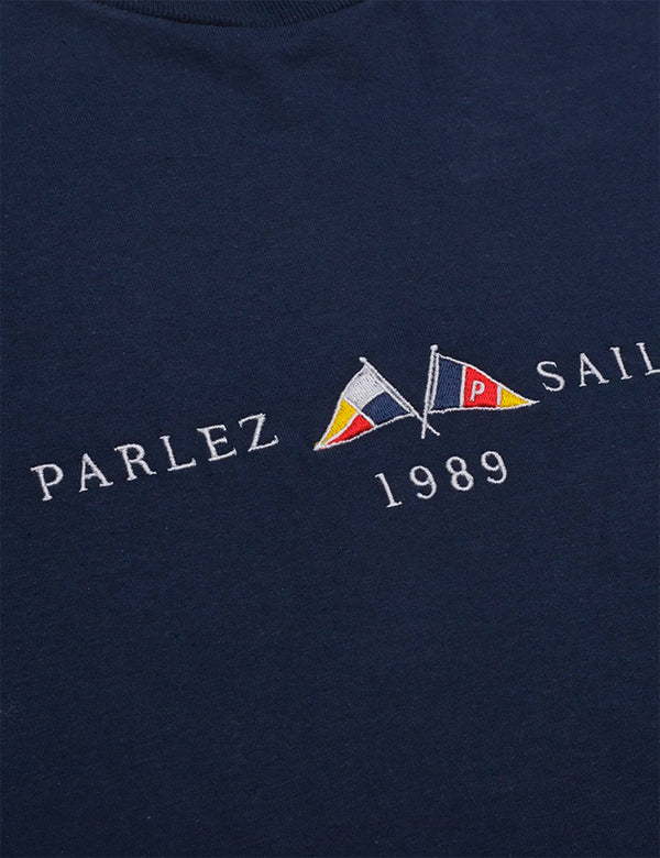 Parlez Jetty T-Shirt - Marineblau