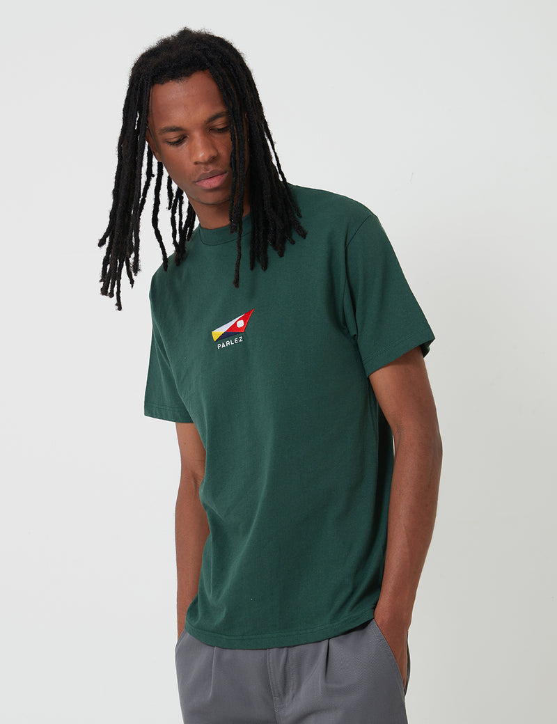 Parlez Oistin T-Shirt - Forest Green