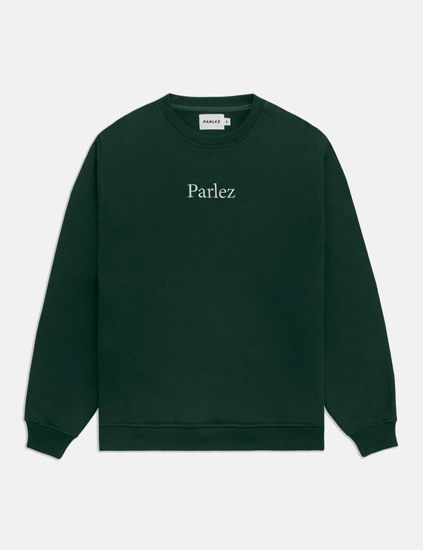 Parlez Skutsje Sweatshirt - Forest Green