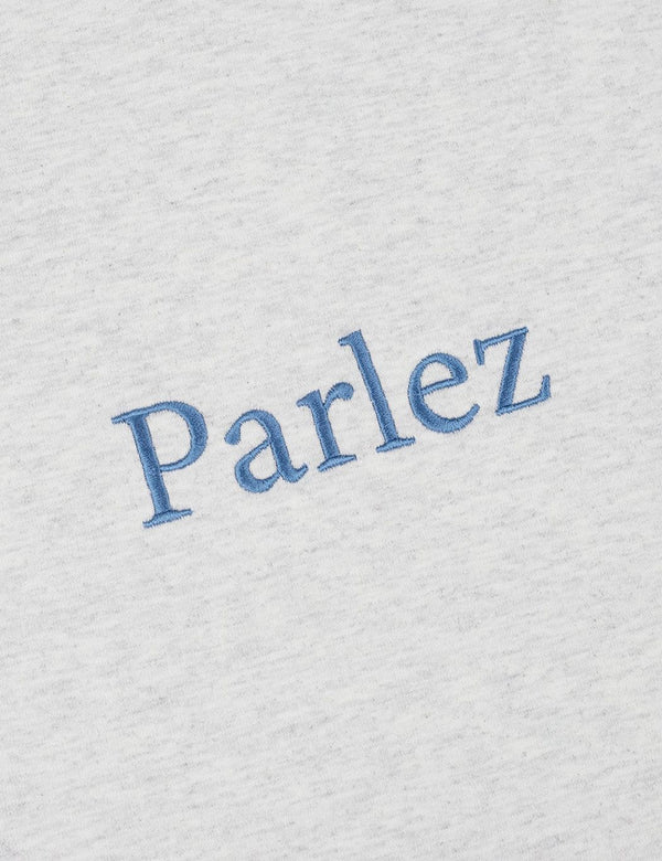 Parlez Skutsje T-Shirt - Grau Heather / Blau