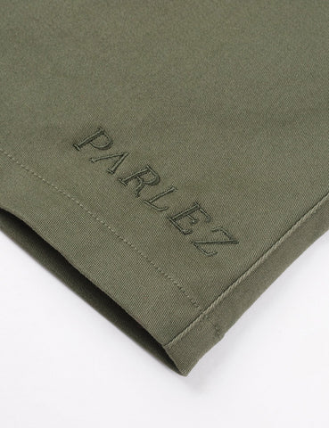 Parlez Ron Shorts - Khaki Green