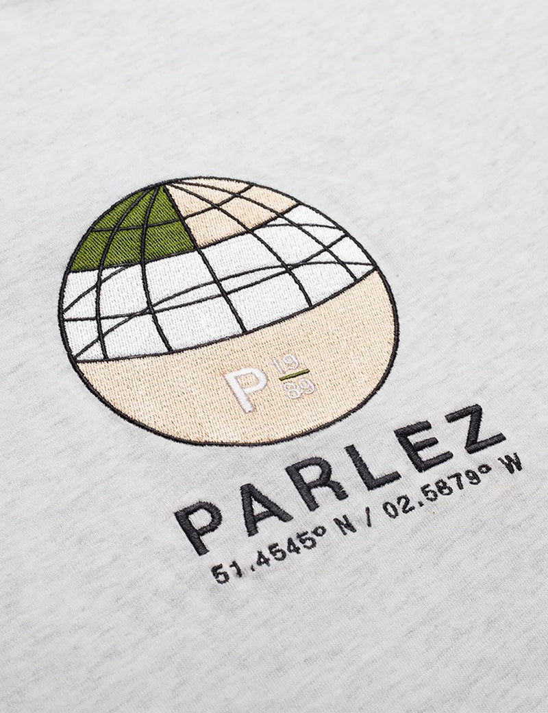 Parlez Behaim Organic T-Shirt - Grey Heather