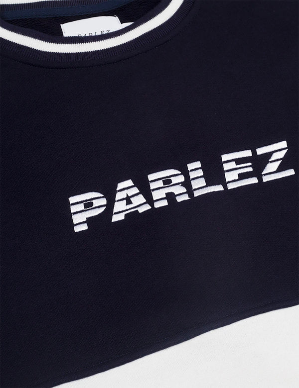 Parlez Abeking Crew Sweatshirt - Teal Green
