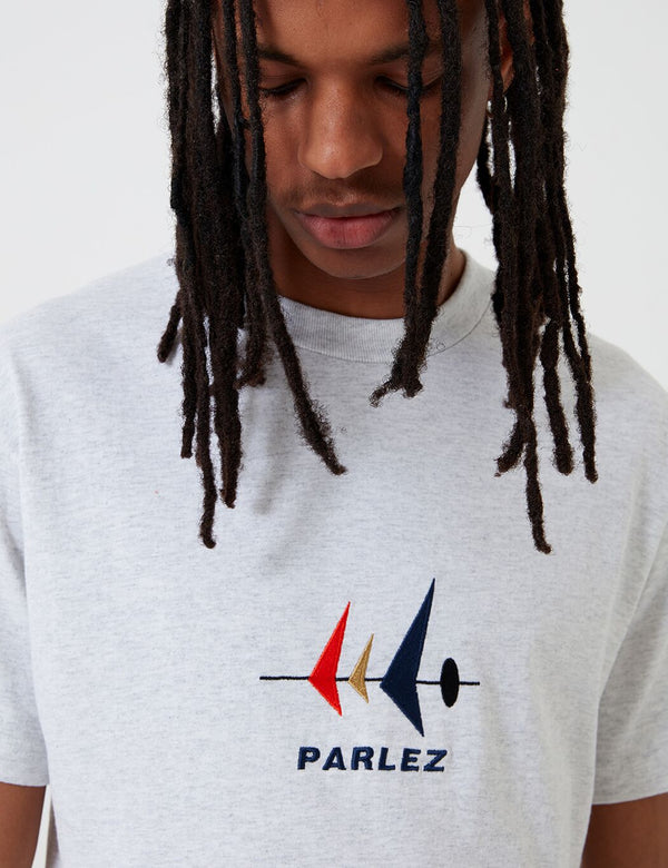 Parlez Carlson T-Shirt - Grau Heather