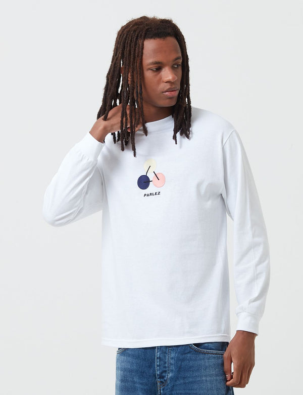 Parlez Ole Long Sleeve T-Shirt - White