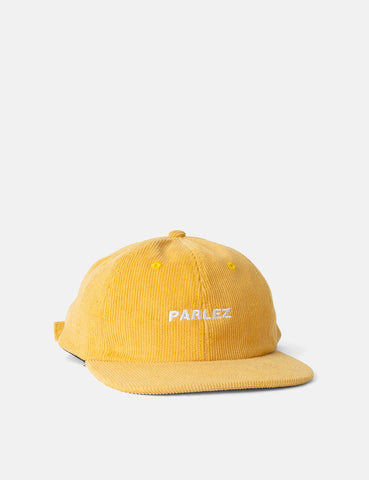 Parlez Ladsun Corduroy Cap (6 Panel) - Yellow