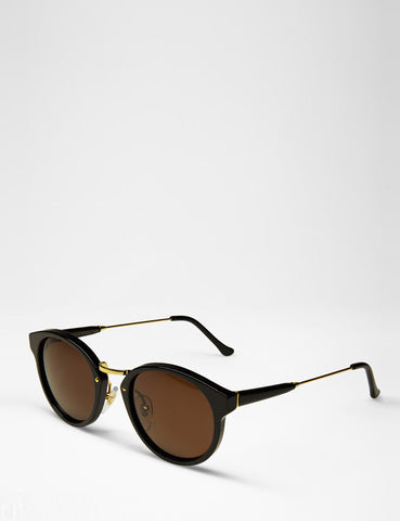 Super Panama Sunglasses - Black