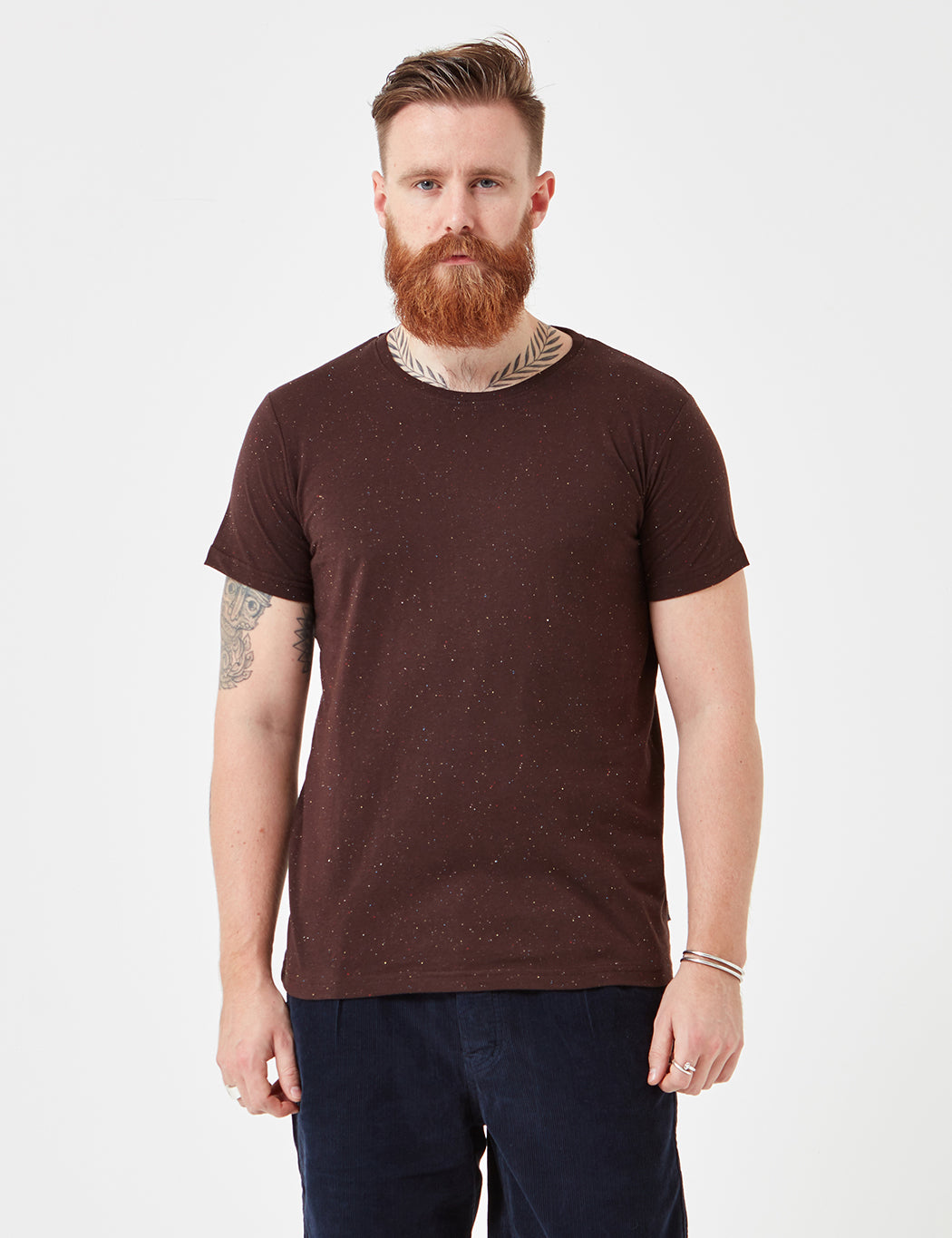 Suit Broadway T-Shirt - Plum