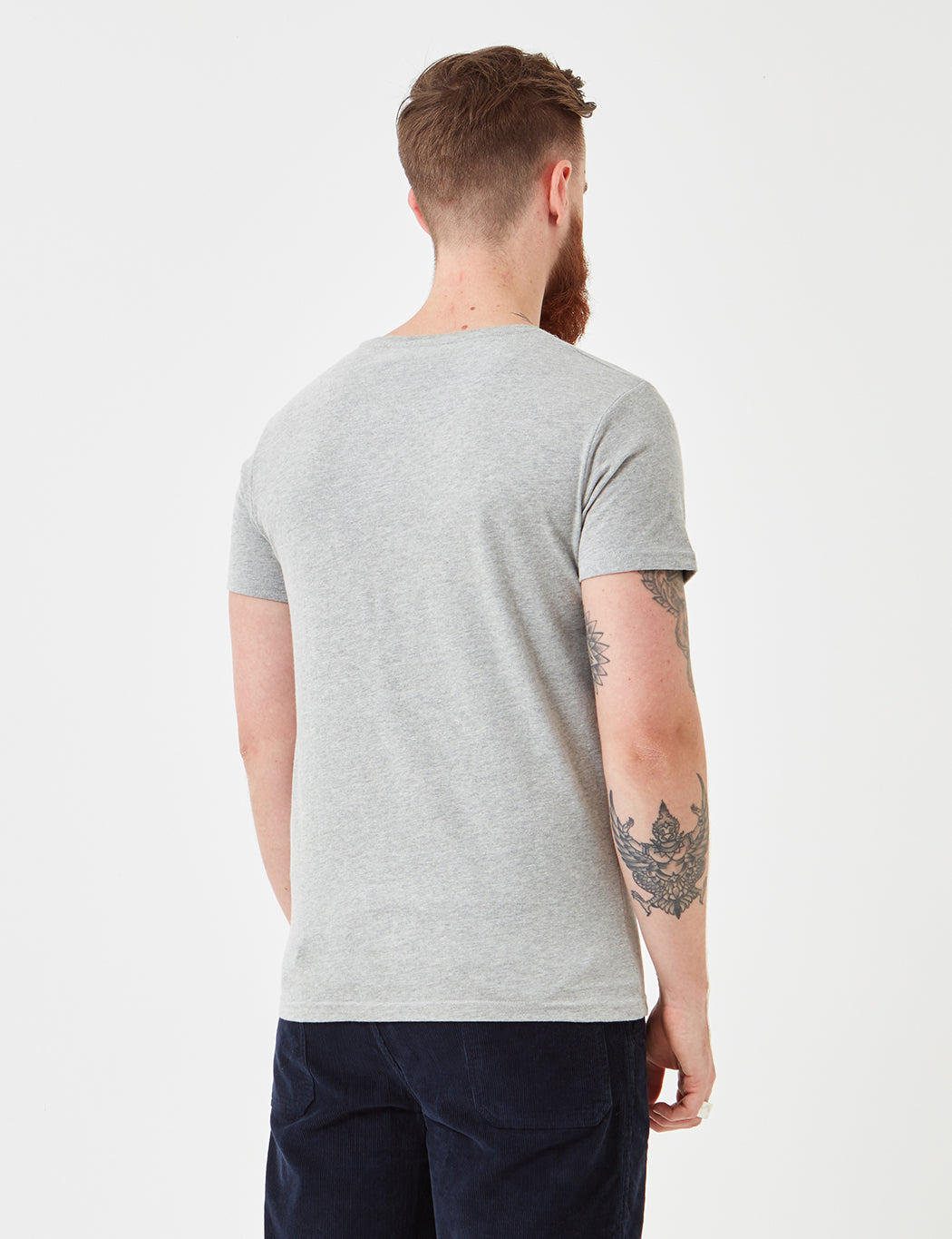 Suit Anton T-Shirt - Extra Light Grey