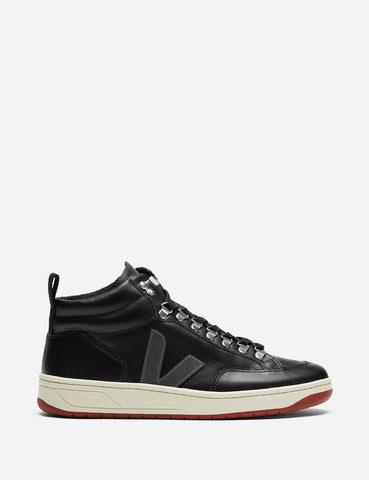 Veja Roraima Bastille Trainers - Leather Black