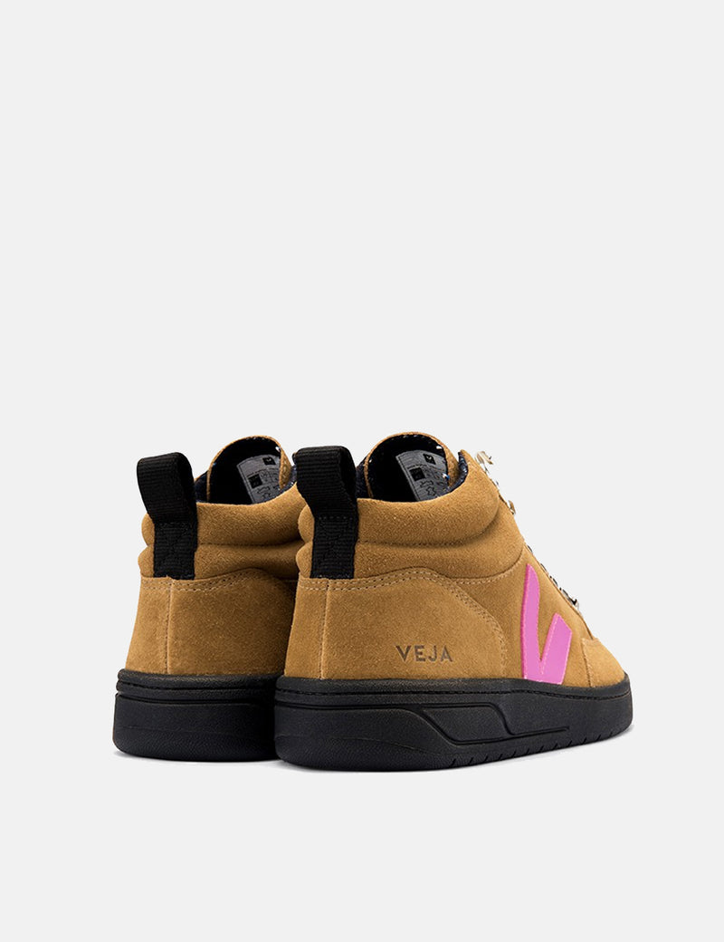 Veja Roraima Suede Trainers - Tent/Ultraviolet